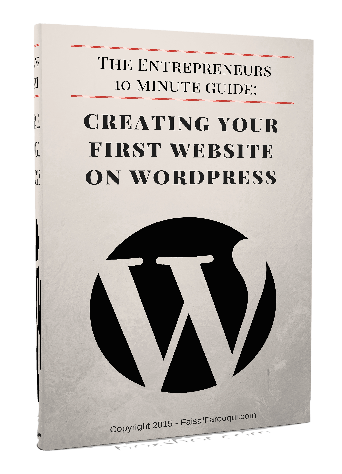 10 Minute Guide to building your first wordpress site